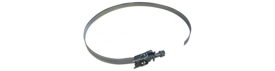 Colliers de serrage pour gaines et accessoires de ventilation