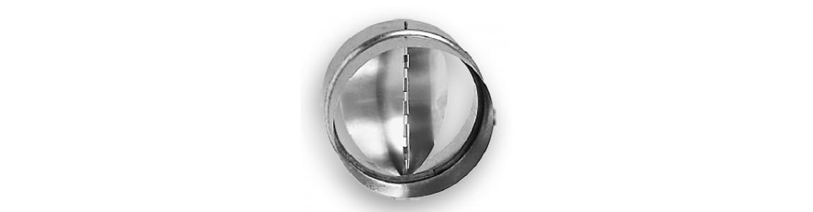 Clapets anti-retour pour gaines de ventilation